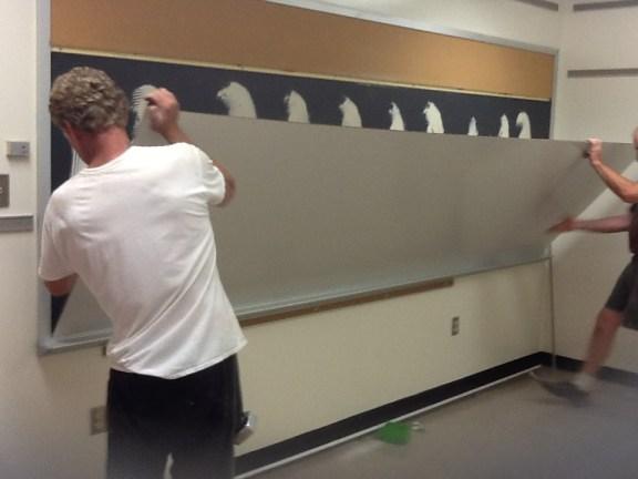 Installing the Overboard - Kratzer Elementary