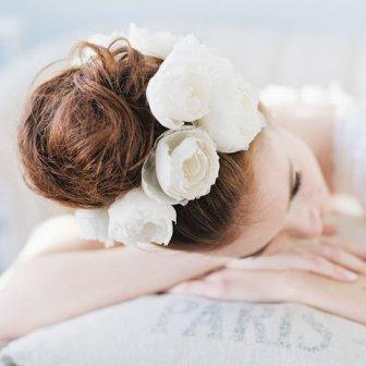 Fleurs mariée - Bride flower, 382€