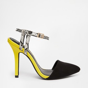 Chaussures jaunes - yellow shoes, 88.99€