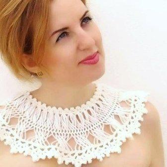 Col dentelle - lace collar, 22€