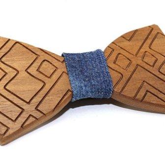 Noeud papillon bois - wood bow tie, 27.50€