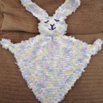 Peluche fait main - handmade bunny, 10.04€