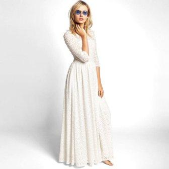 Robe de mariée bohème - bohemian wedding dress, 149€