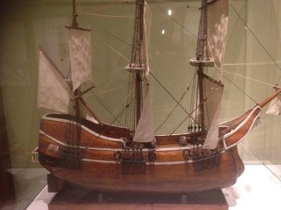 Arblla cargo ship replica