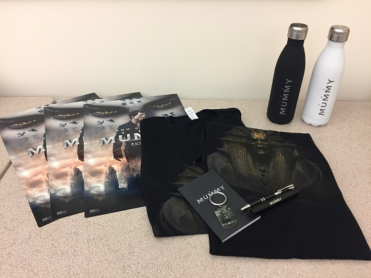The MUMMY prize package