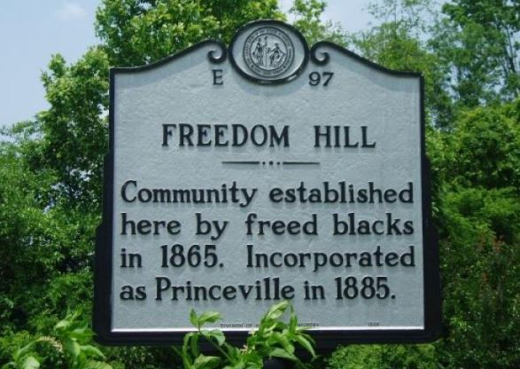 oldest town chartered by an African Ameican