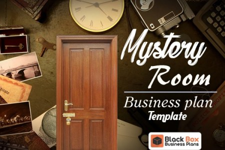 Investor Friendly Templates   Black Box Business Plans Mystery Room Business Plan