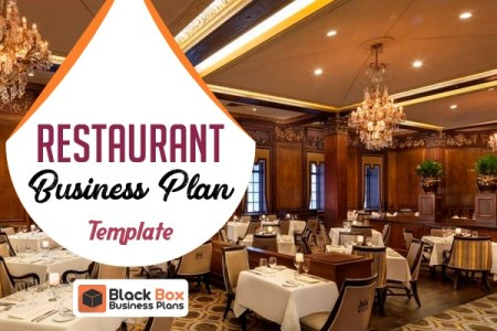 Investor Friendly Templates   Black Box Business Plans Restaurant Business Plan