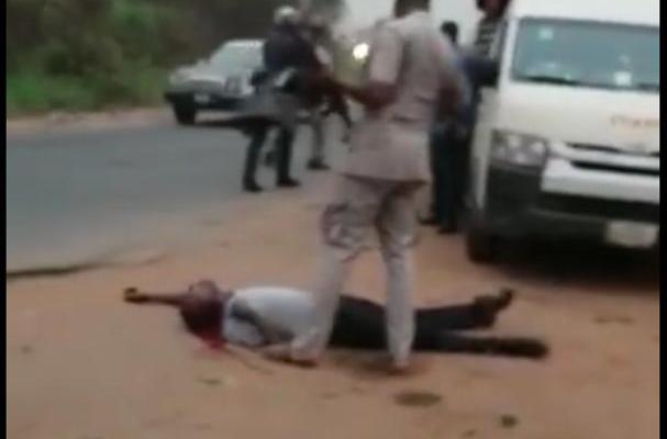Image result for Customs officer shoots passenger dead over N5,000 bribe (Video)