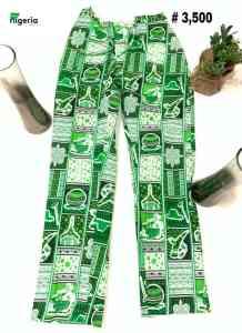 Female palazzo trousers