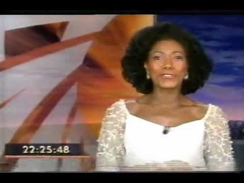 "Hosting Globo TV's ""Fantástico"" program"