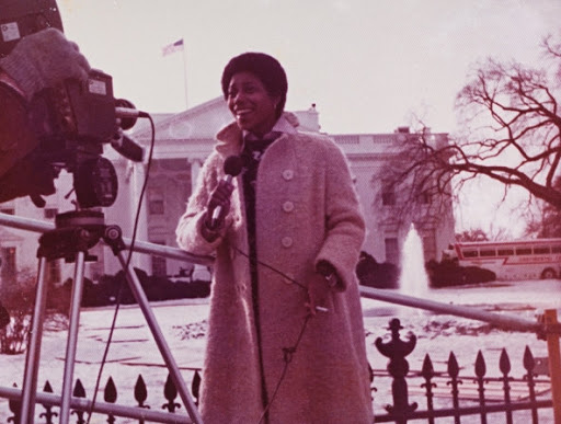 White House, 1977, during President Carter's inauguration
