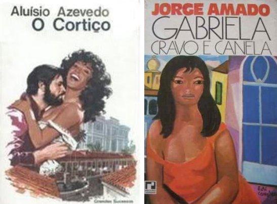 """The novels """"O Cortiço"""" and """"Gabriela, Cravo e Canela"""". * - See description at bottom"""