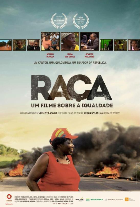 """Poster for """"Raça"""" documentary"""