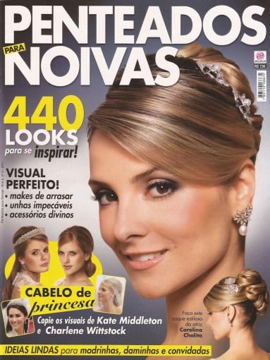 "Brazilian women's bridal magazine ""Penteados Noivas"""