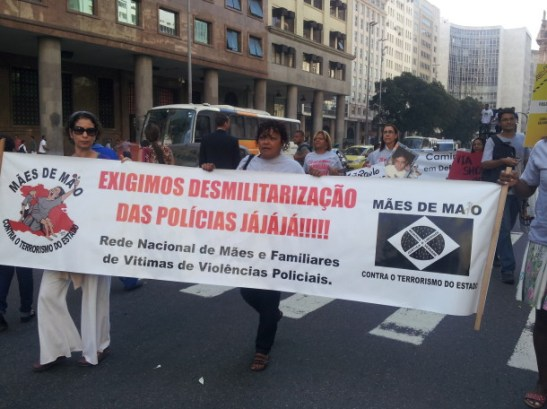 """""""We demand the demilitarization of the police now now now!!!"""""""