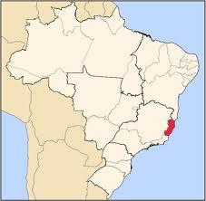 Southeastern state of Espírito Santo is located south of Bahia, east of Minas Gerais and north of Rio de Janeiro