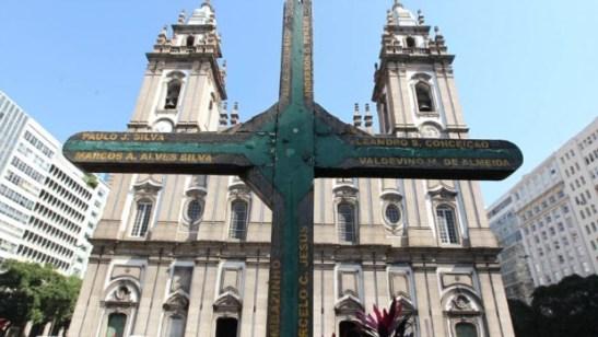 Igreja da Candelária (Candelária Church) in downtown Rio de Janeiro