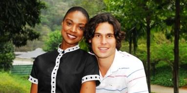 Sabrina (Cris Vianna) and Barretinho (Dudu Azevedo)