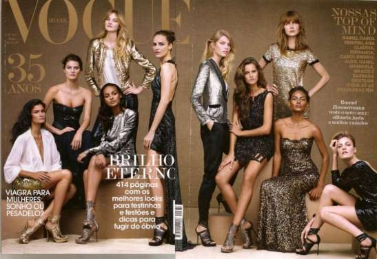 Vogue Brasil's 35th anniversary cover