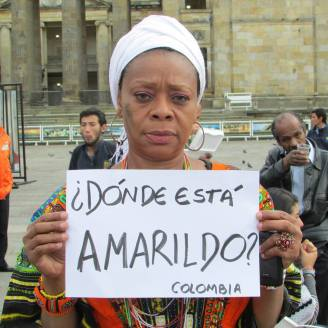 "In Colombia: ""Where is Amarildo?"""