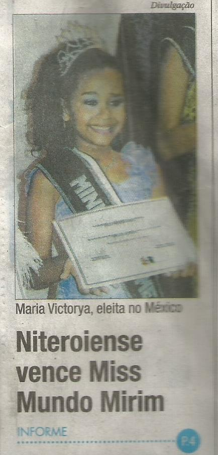 Maria Victórya Manzi de Sant' Anna (photo courtesy of Mamapress)