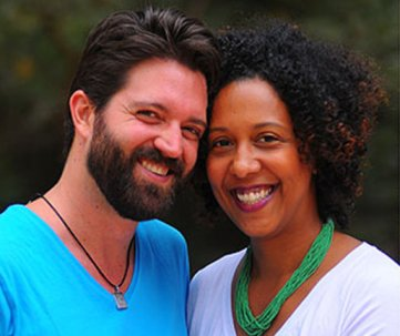 Denise Costa with husband Daniel
