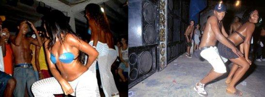 Scenes from Rio's Bailes Funk