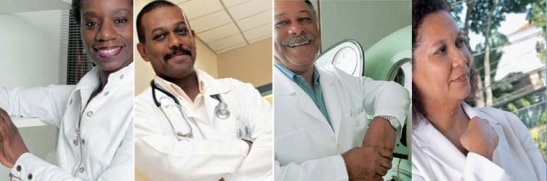 Black doctors like Dulce de Brito, Eduardo Ferreira, Iv an Ribeiro and Telma Nery are still vastly under-represented in the medical field