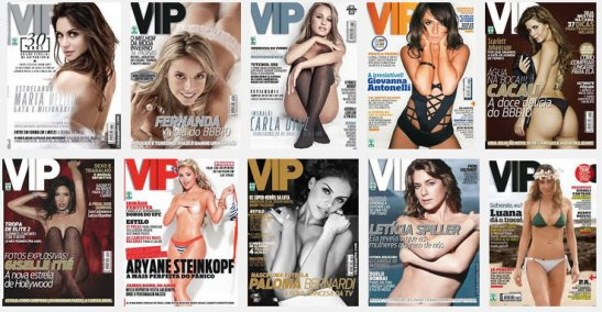 Google Images screen shot for VIP magazine