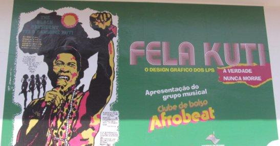Museu Afro Brasil in São Paulo features an exhibit of Fela Kuti