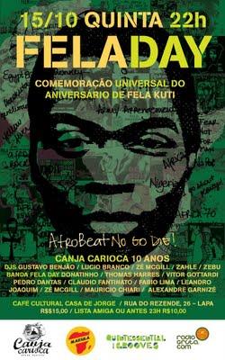 Fela Day in Rio de Janeiro