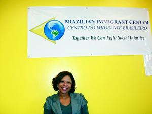 Natalicía is executive director of the Brazilian Immigrant Center