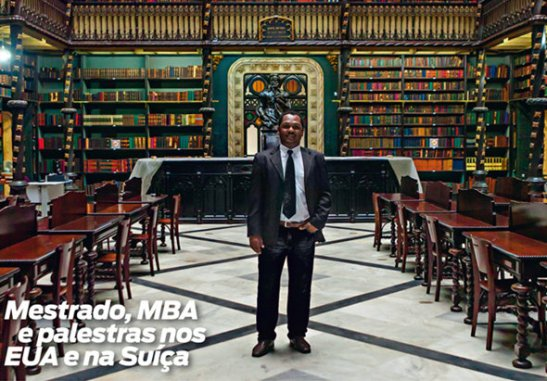 Renato Ferreira dos Santos: Master's Degree, MBA and lectures in the US and Switzerland