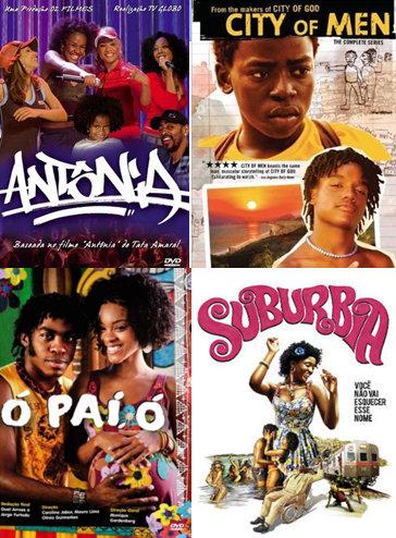 Globo TV series: Antônia (2006-2007), Cidade dos Homens (2002-2005), Ó Paí, Ó (2008-2009) and Suburbia (2012)