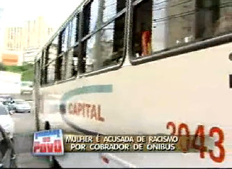 Incident occurred on public bus in Salvador, Bahia