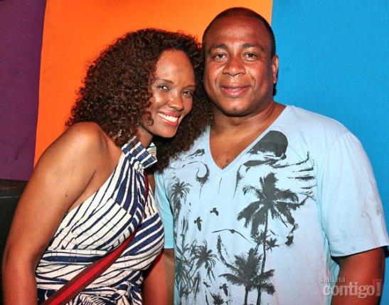 Isabel with husband, businessman Júlio César