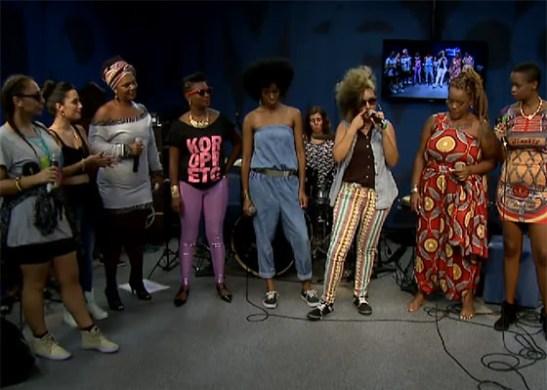 Estúdio Showlivre - Divas Do Hip-Hop (2)