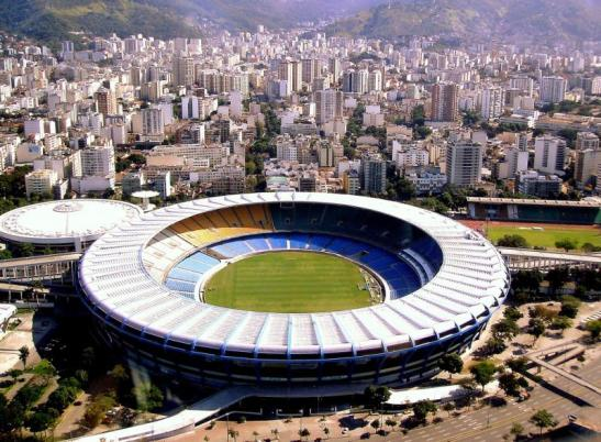 The famed Maracanã Stadium in Rio de Janeiro was the second most expensive stadium