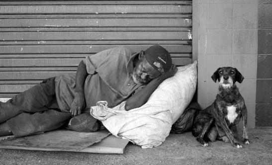 67% of Brazil's homeless are black