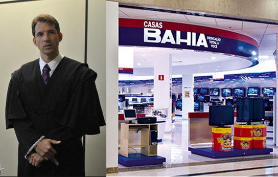 Judge Hitler Eustásio Machado Oliveira and the Casas Bahia retail store