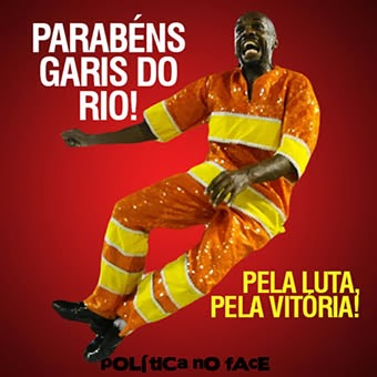 Congratulations to Rio's garis! For the struggle! For the victory!