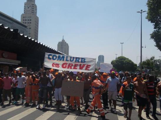 COMLURB on strike