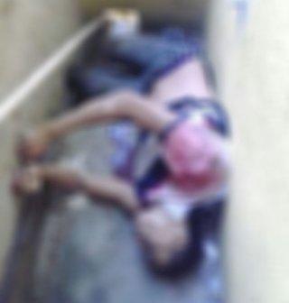 Photo of victim's body taken by resident of the Pavão-Pavãozinho neighborhood