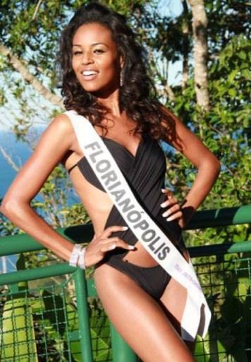 Beauty pageant winner Elisa Freitas