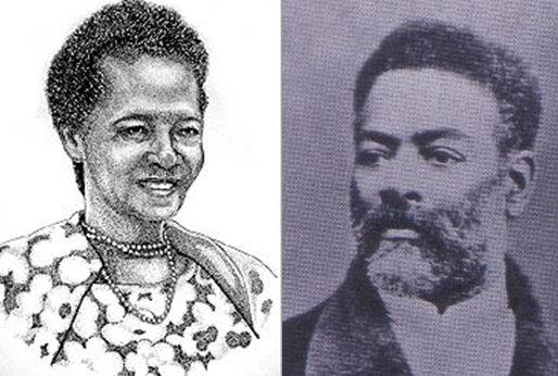 Luísa Mahin and her son, abolitionist Luiz Gama