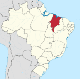 State of Maranhão in Brazil's northeast
