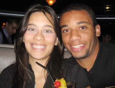 Clarice Alves and Marcelo