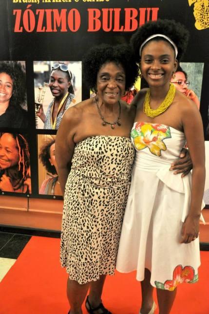 Léa and Viviane at 7th Annual Encounter of Black Cinema Brazil Africa Caribbean in Rio de Janeiro