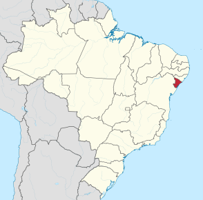 The state of Sergipe in Brazil's northeast